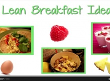 lean breakfast ideas