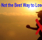 Exercise not best way to lose weight