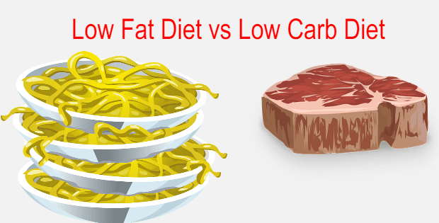 low fat diet vs low carb diet